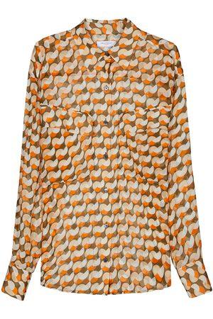 Equipment Damen Blusen - Nanine silk blouse