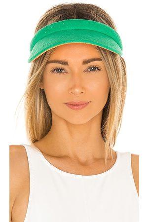 Lele Sadoughi Damen Hüte - Terry Cloth Visor in - Dark . Size all.