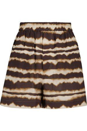 Nanushka Damen Shorts - Shorts Madrid aus Baumwolle