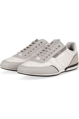 HUGO BOSS Herren Sneakers - Sneaker Saturn weiss