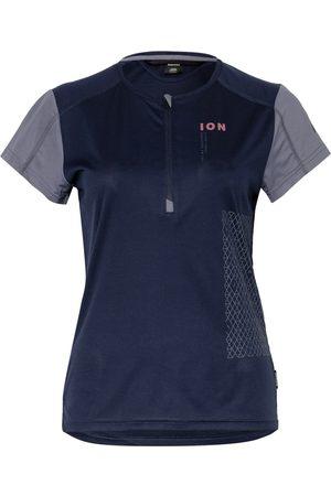 ION BIKE Damen Shirts - Radtrikot Traze Vent blau