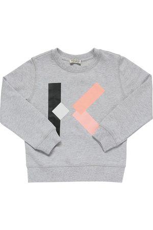 Kenzo Sweatshirt Aus Baumwolle Mit Logodruck