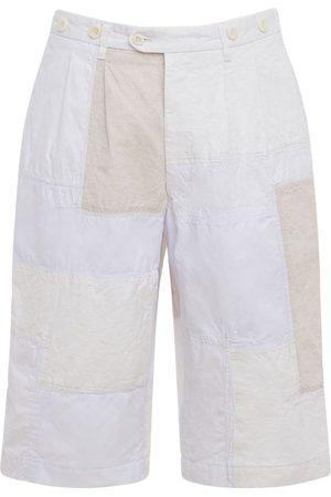 JUNYA WATANABE Cotton Blend Canvas & Nylon Shorts