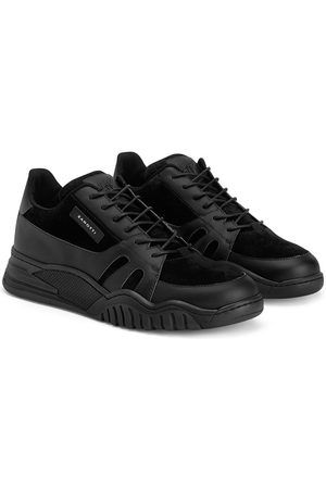 Giuseppe Zanotti Talon Jr suede-panel sneakers