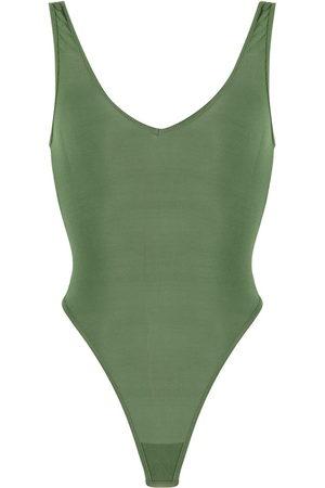 MAISON CLOSE Damen Slips - Sleeveless modal bodysuit