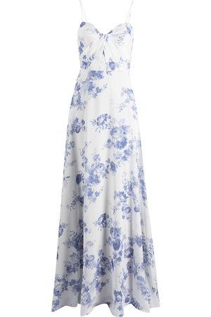 Marchesa Notte Damen Bedruckte Kleider - Floral-print floor-length gown