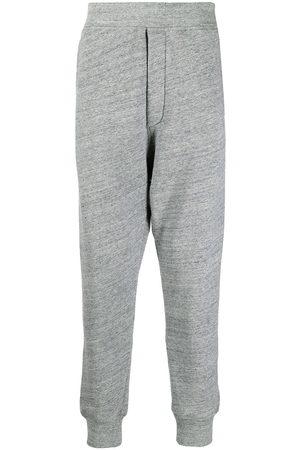 Dsquared2 Herren Jogginghosen - Melange cotton-jersey track pants