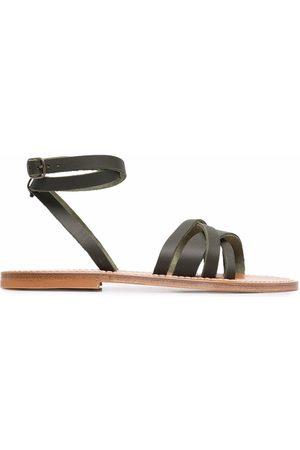 K jacques Slingback lattice sandals
