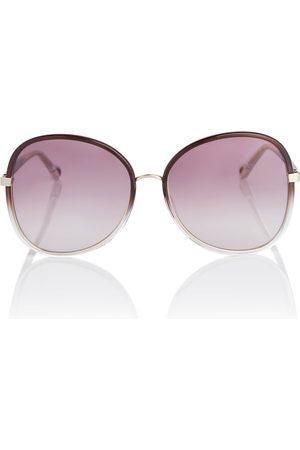 Chloé Oversize-Sonnenbrille Franky