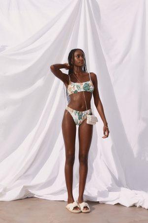 H&M Damen Bikinis - Wattiertes Bikinitop