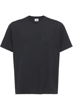 Burberry Herren Shirts - T-shirt Aus Bio-baumwolljersey Mit Logodruck
