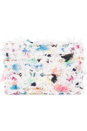 Coohem Geldbörsen & Etuis - Knit tweed spring paint cardholder