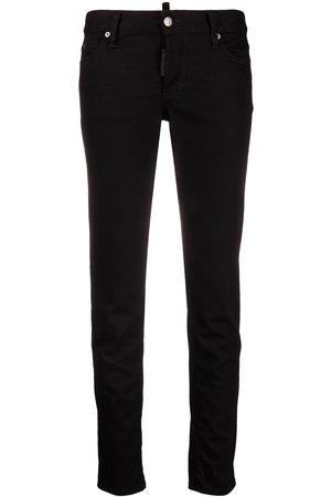Dsquared2 Damen High Waisted - Low-rise skinny jeans