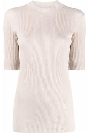Brunello Cucinelli Ribbed-knit mock neck sweater
