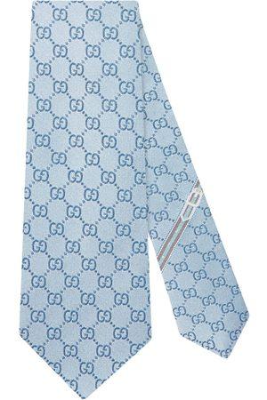 Gucci Herren Krawatten - GG pattern silk tie