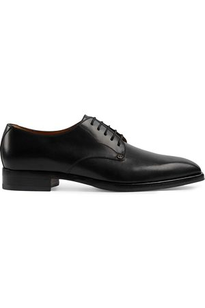 Gucci Herren Schnürschuhe - Leather lace-up shoes