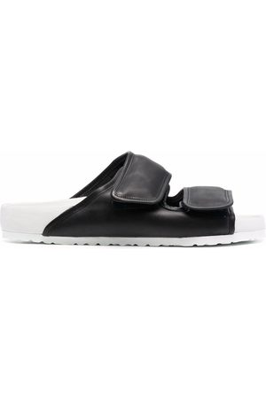 Birkenstock Two-tone touch-strap sandals