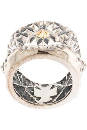 Natural Instinct Herren Ringe - Geometric pattern ring