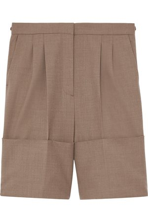 Burberry Damen Shorts - Cuff detail tailored shorts
