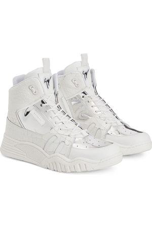 Giuseppe Zanotti Logo-patch lace-up sneakers