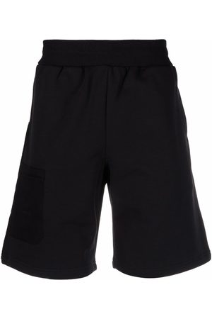 A-cold-wall* Herren Kurze Hosen - Logo-embroidered cotton shorts