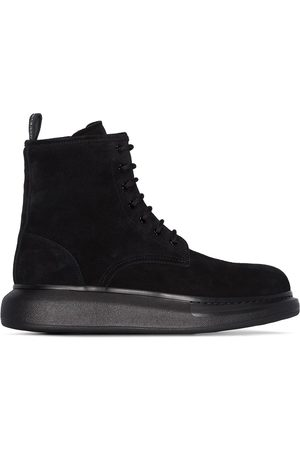 Alexander McQueen Hybrid lace-up ankle boots