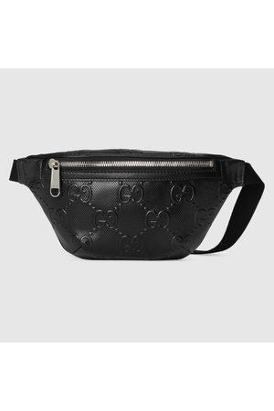Gucci Herren Umhängetaschen - Gürteltasche aus geprägtem GG Leder