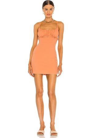 Lovers + Friends Sade Dress in - Peach. Size L (also in XXS, XS, S, M, XL).