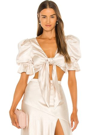 LPA Candy Top in - Metallic Neutral. Size L (also in XXS, XS, S, M, XL).