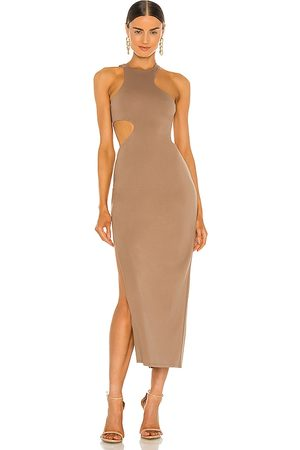 Michael Costello X REVOLVE Rylan Midi Dress in - . Size L (also in XXS, XS, S, M, XL).