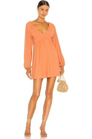 Lovers + Friends Giorgia Dress in - Peach. Size L (also in XXS, XS, S, M, XL).