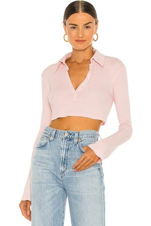Lovers + Friends Celeste Top in - Blush. Size L (also in XS, S, M, XL).