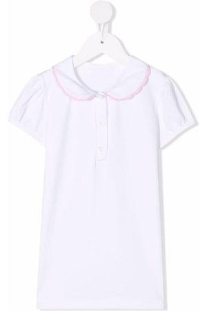 SIOLA Mädchen Blusen - Contrast-trim cotton blouse
