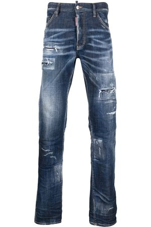 Dsquared2 Herren Bootcut - Distressed bootcut jeans