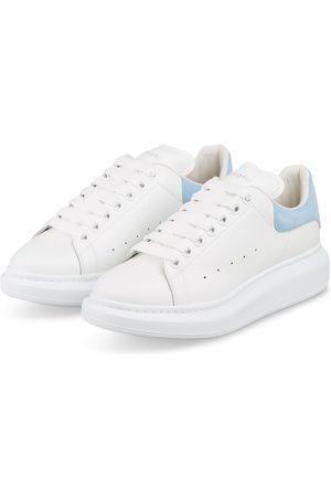 Alexander McQueen Damen Sneakers - Plateau-Sneaker weiss