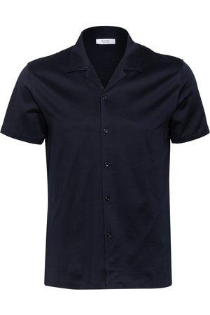 Reiss Herren Freizeit - Resorthemd Caspa Regular Fit blau