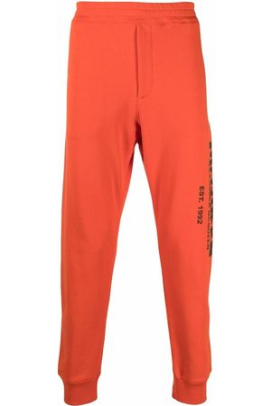 Alexander McQueen Herren Jogginghosen - Logo-print track pants