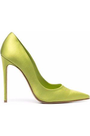 Giuliano Galiano Damen Pumps - Amanda pointed-toe satin pumps