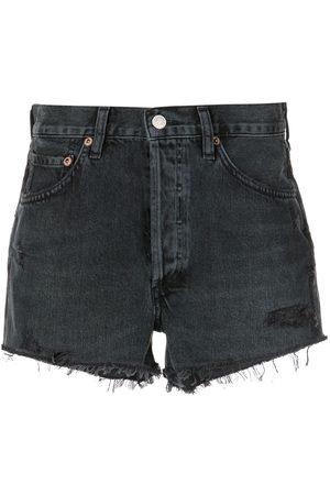 AGOLDE Damen High Waisted - Parker high-waisted denim shorts