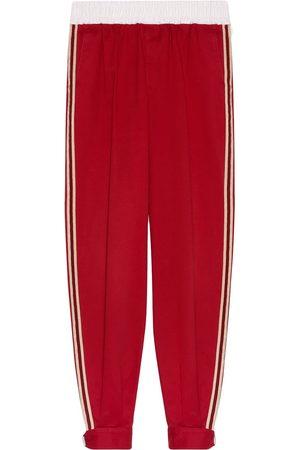Gucci Herren Jogginghosen - Side-stripe track pants