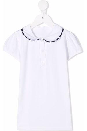 SIOLA Jungen Poloshirts - Contrast-trim cotton polo shirt