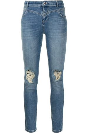 Twin-Set Mid-rise skinny jeans