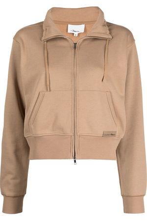 3.1 Phillip Lim Damen Sommerjacken - Drawstring-collar bomber jacket
