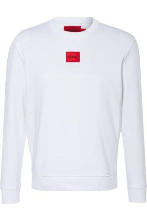 HUGO BOSS Herren Sweatshirts - Sweatshirt Diragol weiss