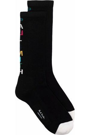 Paul Smith Herren Slips & Panties - Logo-intarsia socks