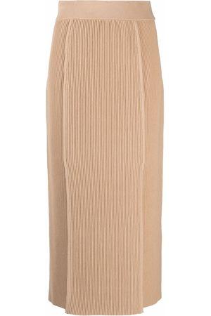 12 STOREEZ Ribbed knit skirt