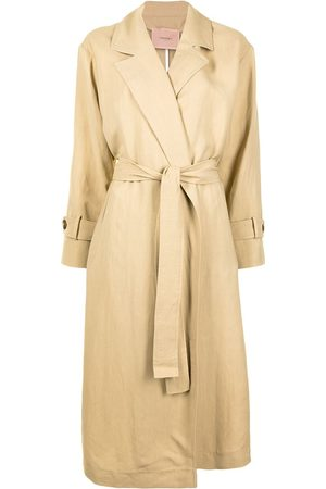 Twin-Set Damen Trenchcoats - Belted trench coat