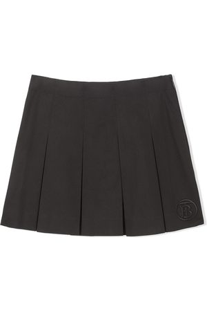 Burberry Baby Röcke - Monogram-motif box-pleat skirt