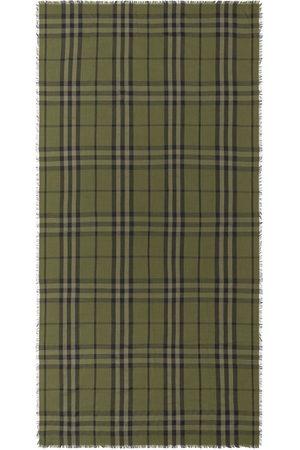 Burberry Schals - Check pattern fringe-edge scarf