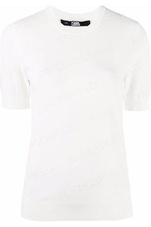 Karl Lagerfeld All-over logo T-shirt